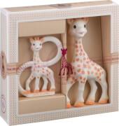 Geschenkset Sophie la girafe und Beißring
