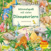 Maxi Pixi 337:Wimmelspaß mit vielen Dinosauriern